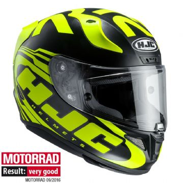 HJC RPHA 11 Eridano Yellow Black MC4HSF Full Face Motorcycle Helmet Pinlock inc